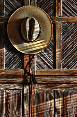 The Straw Hat Print by Karen Slagle