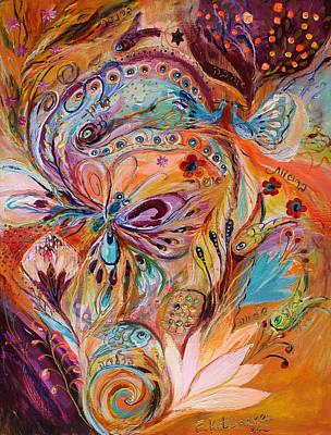 Wholesale Painting - The Stream Of Life Part II by Elena Kotliarker