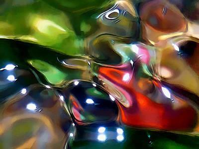 The Streambed Jazz Ensemble Print by Terril Heilman