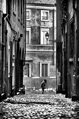 The Streets Of Roma Print by John Rizzuto
