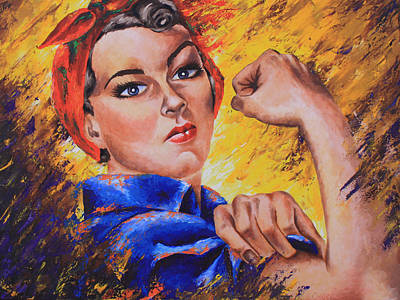The Strength Within Print by Connie Mobley Medina