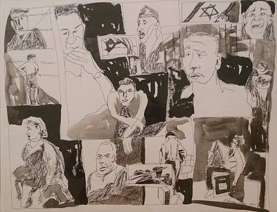 Imprisonment Painting - The Struggle For Independence by Esther Newman-Cohen