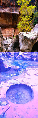 Zion National Park Photograph - The Subway At Zion National Park, Utah by Panoramic Images