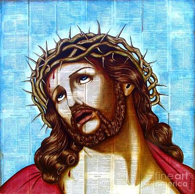 The Suffering Christ Original by Joseph Sonday
