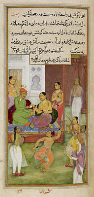 The Sultan Of Baghdad Print by British Library