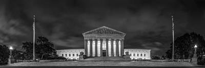Chief Justice Photograph - The Supreme Court by David Morefield