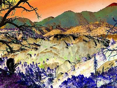 The Surreal Desert Print by Glenn McCarthy Art and Photography