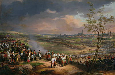 Ulm Photograph - The Surrender Of Ulm, 20th October 1805, 1815 Oil On Canvas by Charles Thevenin