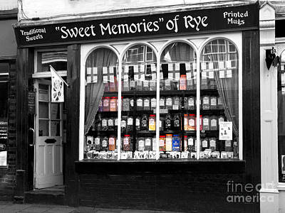 The Sweet Shop Print by Louise Heusinkveld