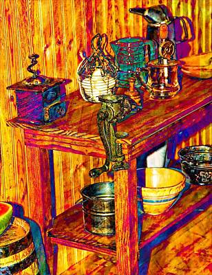 The Table Print by Bob Pardue