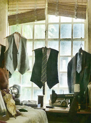 The Tailor Shop Print by Steve Taylor