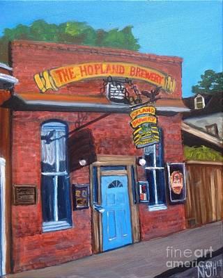 Blackhawk Painting - The Tavern by Jeremy Nash