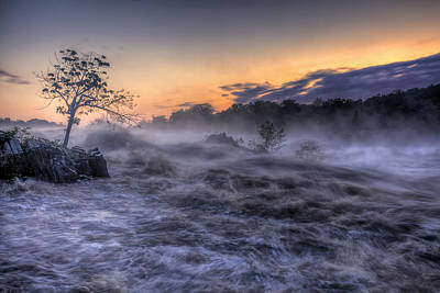 Raging Photograph - The Tempest by Edward Kreis