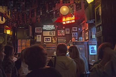 The Temple Bar Dublin Ireland Print by Betsy Knapp