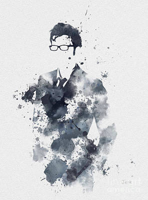The Tenth Doctor Print by Rebecca Jenkins