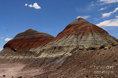 Multihued Photograph - The Tepees by Christiane Schulze Art And Photography