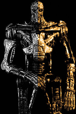 The Terminator Silver And Gold Original by Toppart Sweden