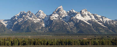 Grand View Of Nature Photograph - The Tetons by Aaron Spong