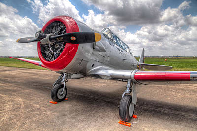 Airplane Photograph - The Texan by Tim Stanley