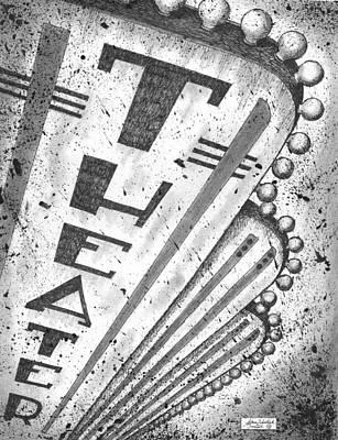 The Theater Print by Adam Zebediah Joseph