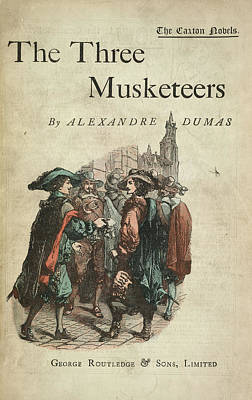 The Three Musketeers Print by British Library