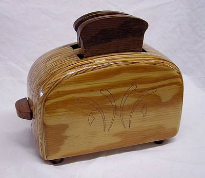 Czappa Sculpture - The Toaster by Bill Czappa