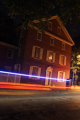 Dolley Photograph - The Todd House Philadelphia by Christopher Woods