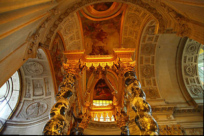 Europe Photograph - The Tombs At Les Invalides - Paris France - 011324 by DC Photographer