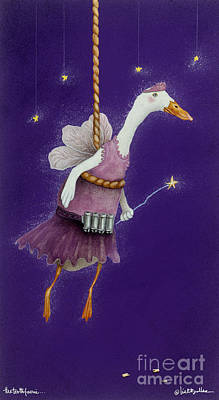 Ducks Painting - The Tooth Faerie... by Will Bullas