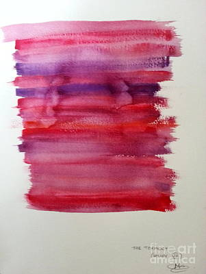 Proofs Painting - The Torment Study Vii From The Faust Series by Maia Newley