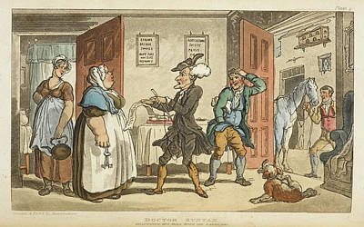 Pictur Photograph - The Tour Of Doctor Syntax by British Library