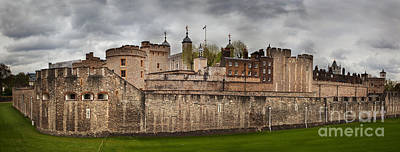 Politics Photograph - The Tower Of London Uk The Historic Royal Palace by Michal Bednarek