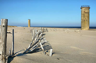 Rehoboth Photograph - The Towers by JC Findley