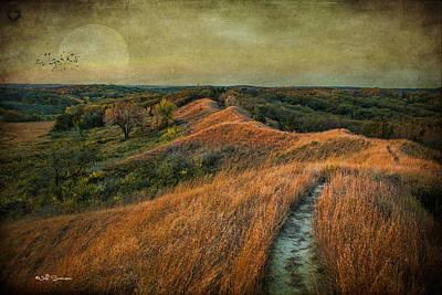 The Trailhead Print by Jeff Swanson
