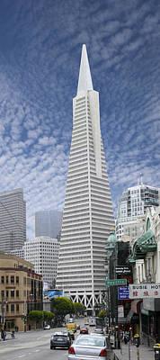 The Transamerica Pyramid - San Francisco Print by Mike McGlothlen