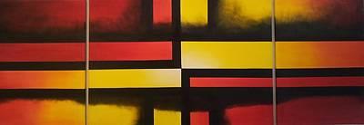 Ptints Painting - The Transition by Emel Yigitoglu