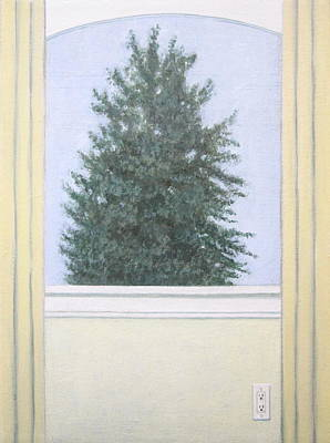 Rene Magritte Painting - The Tree by Kazumi Whitemoon