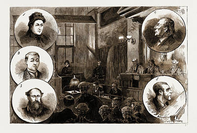 The Trial Of Patrick Odonnell At The Old Bailey Print by Litz Collection