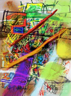 Tzaddik Digital Art - The Tzaddik Lives On Emunah 22b by David Baruch Wolk