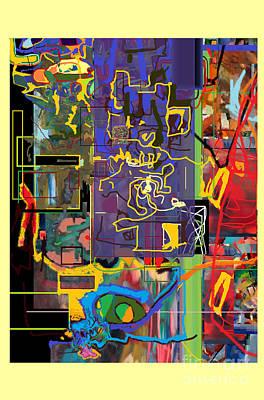 Tzaddik Digital Art - The Tzaddik Lives On Emunah 9c by David Baruch Wolk