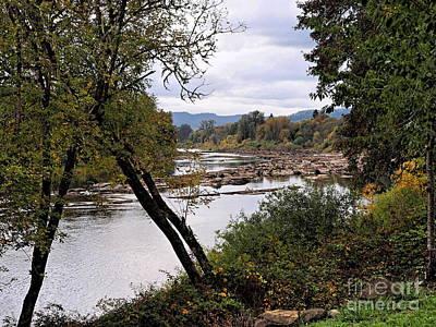 Elkton Photograph - The Umpqua River by   FLJohnson Photography