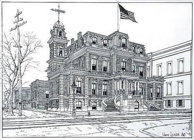 The Union League Philadelphia 1867 Print by Ira Shander