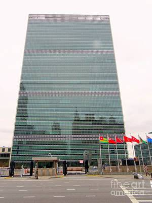 The United Nations Print by Ed Weidman