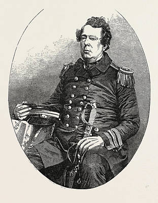 The United States Expedition To Japan Commodore Matthew C Print by Japanese School