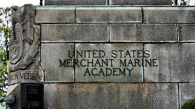 The United States Merchant Marine Academy  Print by JC Findley