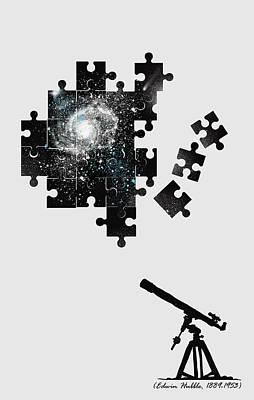 Cosmology Digital Art - The Unsolved Mystery by Neelanjana  Bandyopadhyay