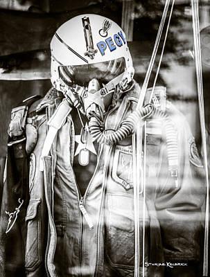 The U.s Airman Original by Stwayne Keubrick