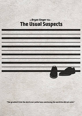 Clean Digital Art - The Usual Suspects by Ayse Deniz