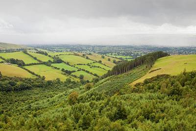 Vale Photograph - The Vale Of Clwyd by Ashley Cooper