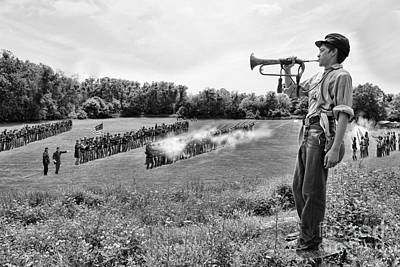 The General Lee Photograph - The Valley Of Death - Civil War by Lee Dos Santos